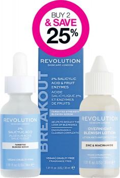 Buy-2-Save-25-on-Revolution-Skincare-Range on sale
