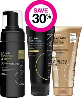 Save-30-on-Puretan-Tanning-Range on sale