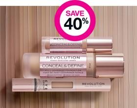 Save-30-on-Revolution-Foundation-Concealer-Ranges on sale