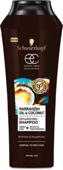 NEW-Schwarzkopf-Extra-Care-Marrakesh-Oil-Coconut-Replenishing-Shampoo-400mL on sale