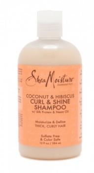 Sheamoisture-Coconut-Hibiscus-Curl-Shine-Shampoo-384mL on sale