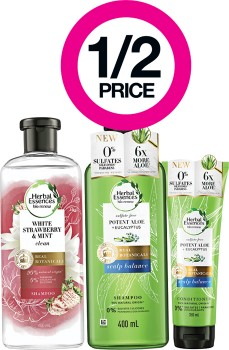 12-Price-on-Selected-Herbal-Essences-Haircare-Products on sale