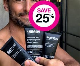 Save-25-on-Handsome-Mens-Skincare-Range on sale