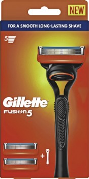 Gillette-Fusion5-Razor-Handle-2-Cartridges-1-Pack on sale
