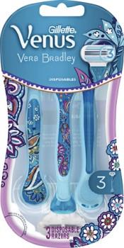 Gillette-Vera-Bradley-Venus-Womens-Disposable-Razor-3-Pack on sale
