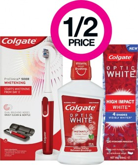 12-Price-on-Selected-Colgate-Whitening-ProClinical-Products on sale