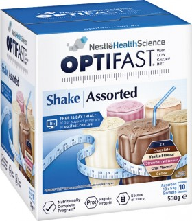 Optifast-VLCD-Shakes-Assorted-Flavours-10-Pack on sale
