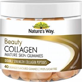 Natures-Way-Beauty-Collagen-Mature-Skin-Gummies-40-Gummies on sale