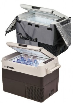 Dometic-CFF45-FridgeFreezer-and-Cover-Pack on sale