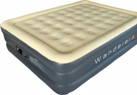 Wanderer-Double-High-Queen-Airbed-with-240V-Pump on sale