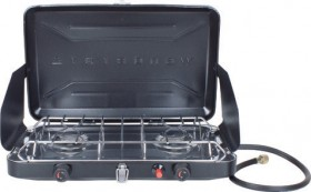 Wanderer-Two-Burner-LPG-Camp-Stove-with-Drip-Tray on sale