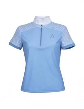 Dublin-Black-Monique-Lace-Competition-Shirt-Nautical-Sky-Blue on sale