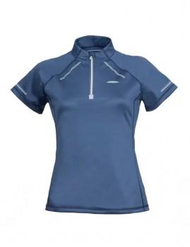 WeatherBeeta-Victoria-Premium-Short-Sleeve-Top-Stone-Blue on sale