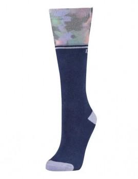 Dublin-Single-Pack-Socks-Blueberry-Navy-Floral on sale