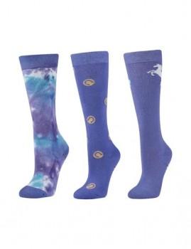 Dublin-3-Pack-Socks-Lavender-Horseshoe-Dots on sale