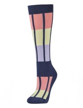 Dublin-Single-Pack-Socks-Blueberry-Navy-Multi on sale
