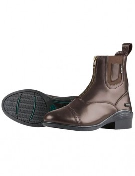 Dublin-Evolution-Zip-Front-Paddock-Boots-Brown on sale