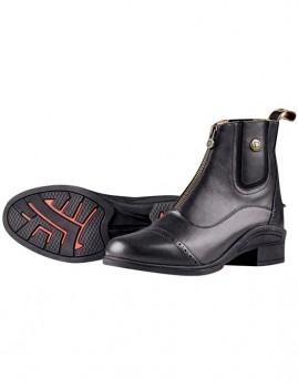 Dublin-Rapture-Zip-Front-Paddock-Boots-Black-Ladies on sale