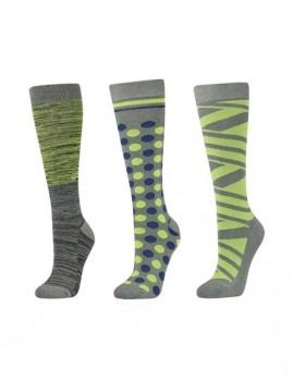 Dublin-3-Pack-Socks-Basil-Green-Ombre on sale