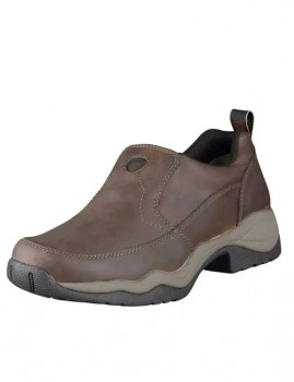 Ariat-Mens-Ralley-Shoes-Distressed-Brown on sale