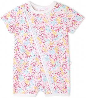 Sprout-Essential-Onesie-Floral on sale