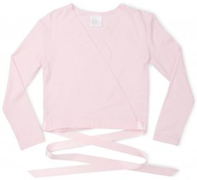Flo-Dancewear-Satin-Tie-Crossover-Top on sale