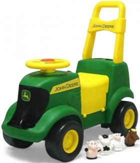 John-Deere-3-In-1-Activity-Tractor-Ride-On on sale