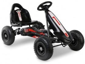 Rigo-Kids-Pedal-Powered-Go-Karts-in-Black on sale