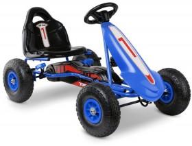 Rigo-Kids-Pedal-Powered-Go-Karts-in-Blue on sale