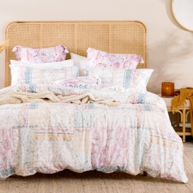 Meera-Quilt-Cover-Set-by-Habitat on sale