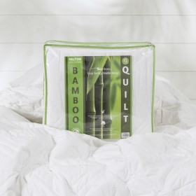 Washable-Bamboo-350gsm-Quilt-by-Hilton on sale