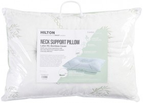 Comfort-Science-Latex-Neck-Support-Standard-Pillow-by-Hilton on sale