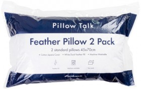 Twin-Pack-Feather-Pillows-by-Pillow-Talk on sale