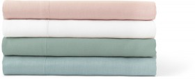 Australian-House-Garden-Sandy-Cape-Washed-Belgian-Linen-Sheet-Sets on sale