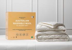 Heritage-Australian-Washable-Wool-All-Seasons-Quilt on sale