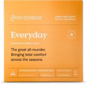 MiniJumbuk-Everyday-Wool-Quilt on sale