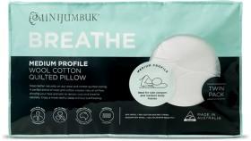 MiniJumbuk-2pk-Breathe-Wool-Pillows on sale