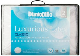 Dunlopillo-Luxurious-Latex-Standard-Pillow-in-Classic-Medium-Profile-and-Feel on sale