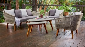 Bora-Bora-4-Seater-Wicker-Timber-Lounge-Setting on sale
