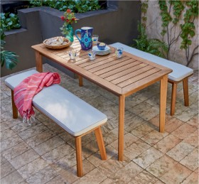 Rye-4-Seater-Timber-Bench-Setting on sale
