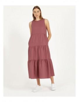 Piper-Organic-Linen-Tiered-Tank-Dress on sale