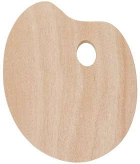 Wooden-Paint-Palette on sale