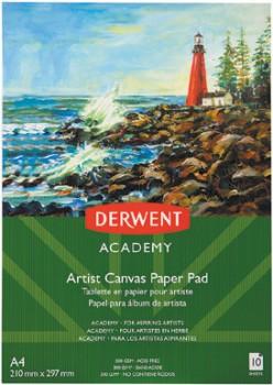 Derwent-Academy-10-Sheets-300gsm-Artist-Canvas-Paper on sale