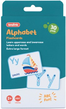 Kadink-30-Pack-Flashcards-Alphabets on sale