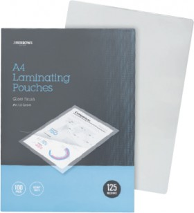 JBurrows-100-Pack-A4-Laminating-Pouches on sale
