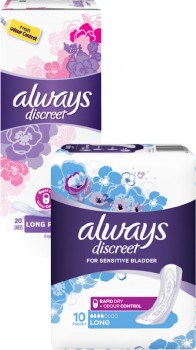 40-off-Always-Discreet-When-You-Buy-2-or-More-Always-Products on sale