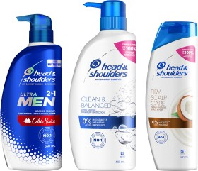 12-Price-on-Selected-Head-Shoulders on sale