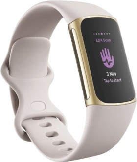 Fitbit-Charge-5-Lunar-White on sale