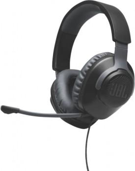 JBL-Quantum-100-Gaming-Headset-Black on sale