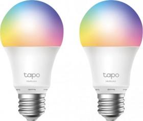 TP-Link-Tapo-Smart-Colour-Light-Bulb-2-Pack-E27 on sale
